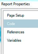 SSRS Applying Parameter Default Value Using Custom Code