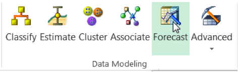 Select forecasting from the data modeling group